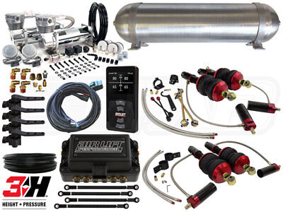 Complete Airbag Suspension Kit - 2008-2015 Audi R8 - LEVEL 4 w/ Air Lift 3H