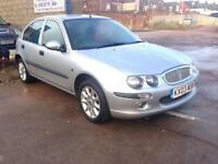 2003/03Rover 25 1.4 Impression S MET SILVER 5 DOOR LONG MOT 2 KEYS DRIVES MINT