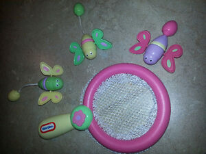 Jouets de bain filet à papillon little tikes
