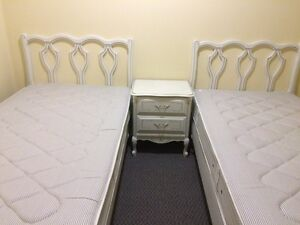 Double Twin beds (King)French Provincial quality set Kawartha Lakes Peterborough Area image 1