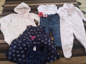 Baby clothing lot