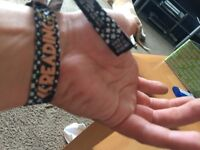 Undamaged reading festival wrist band in reading now