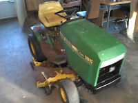 185 John Deere with snow blower