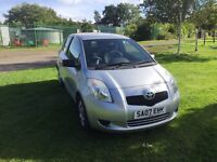 07 Toyota Yaris 1.0 petrol 44200 miles only £2550