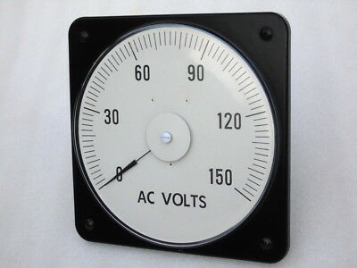Yokogawa Instru Measure Ac Volts Voltmeter 121021pzpz 150v 5060 Hz