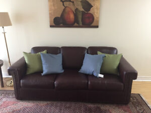 Leather Sofa. Excellent condition.