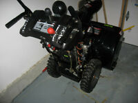 NEW CONDITION SNOW BLOWER
