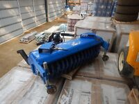 """2007 NEW HOLLAND 704D, 60"""" FRONT MOUNT ROTARY BROOM"""