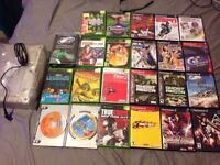 Original Xbox and ps2 lot with console