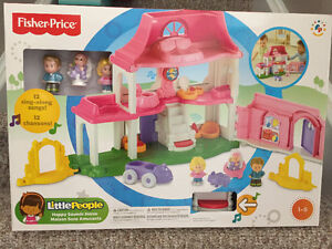 New! Fisher Price little people Happy Sounds House Kitchener / Waterloo Kitchener Area image 1