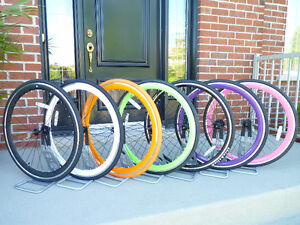 99$ set ROUES neuves 700  fixie / single speed / fixed gear