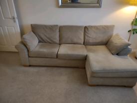 Three seater corner sofa