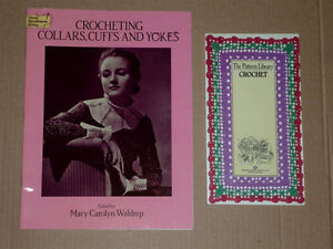 2 crochet Books .. Excellent condition .. smoke free Cambridge Kitchener Area image 1