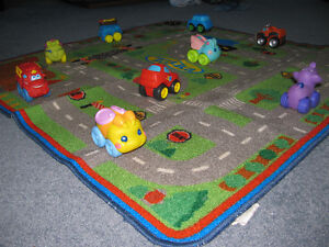 YARD SALE CANCELLED--PLAY MAT AND 10 VEHICLES Kingston Kingston Area image 2