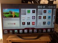 "LG 47"" SMART FULL HD LED TV with built in SATELLITE,"