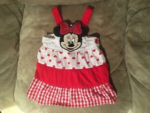 Girl's 6-12 Month Minnie Mouse Dress