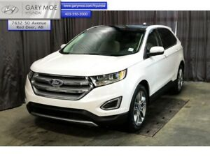 2017 Ford Edge Titanium  - Leather Seats -  Bluetooth - $251.98