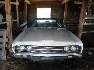 Barn Burner Ford 1969 Galaxie 500 Restore or For Parts!
