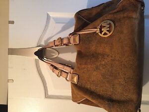 Micheal Kors rare suede Bag