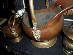 Vintage Copper and brass ,  3 pieces $100 Prince George British Columbia image 3
