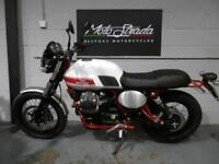 "MOTO GUZZI V7 ""STORNELLO"" WHITE 2016 16' SOLD"