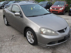 2006 ACURA RSX / AUTO / LEATHER / ROOF / CERTIFIED