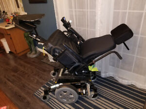 Top of the line electric wheel chair