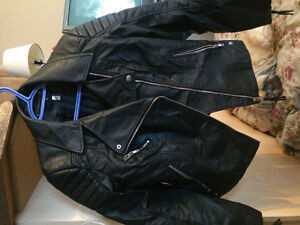 Women's new leather jackets