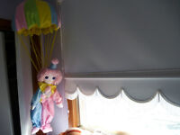 Clown in Hot Air Ballon- Baby Room Decoration