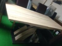 Solid oak table all tables cheap