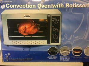 Convection Oven with Rotisserie- New