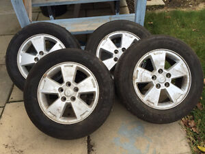 225/60R16 all season tire and rims