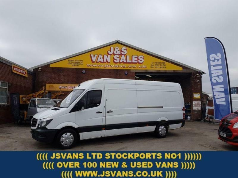 d647125816 2014 14 MERCEDES-BENZ SPRINTER 2.1 313 CDI LWB 129 BHP 1 OWNER VAN REAR  PARK CAM