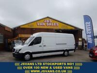 2014 14 MERCEDES-BENZ SPRINTER 2.1 313 CDI LWB 129 BHP 1 OWNER VAN REAR PARK CAM