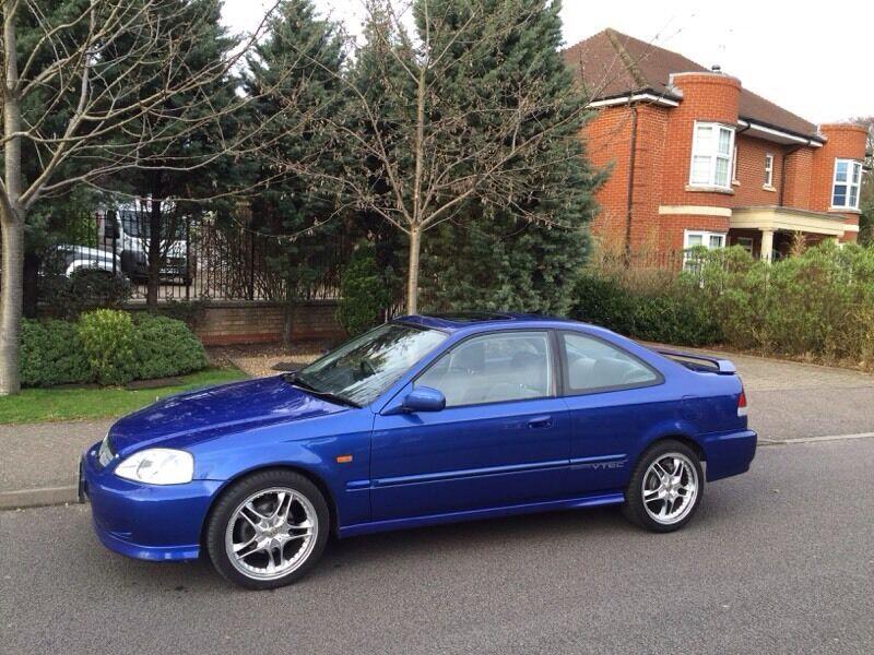 Honda Civic Vti coupe em1 not ek4 ek9 dc2 integra ej9 b18 ...