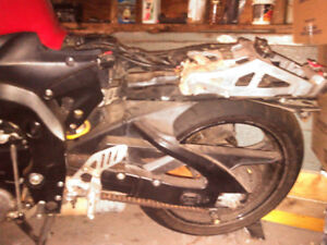 GSX-R 2006 for parts or rebuild