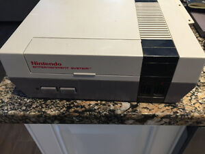 Vintage Nintendo with 13 games