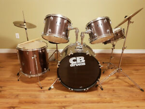 complete set of CB drums