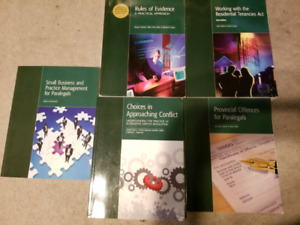 Paralegal textbooks