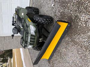 Arctic Cat ATV 500 cc with Snowplow