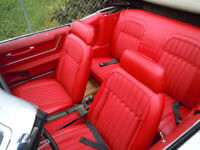 Upholstery Service, Convertible Tops.