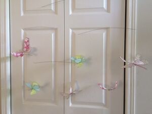 Pottery Barn Kids Hanging Butterly Decoration