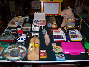 TOYS  --  LARGE SELECTION !