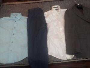 Habit garcon gr 10 et 2 Chemise plus pantalons