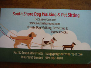 South Shore Dog Walking & Pet Sitting