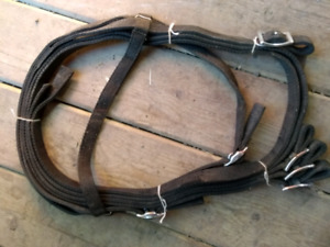 Horse bridle with reins