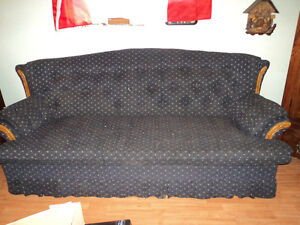 For Sale 1 Sofa Bed & matching Sofa