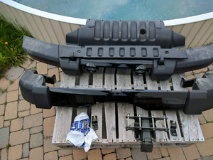 JEEP WRANGLER 2016 ORIGINAL BUMPERS SETS COMPLETE & ITCH
