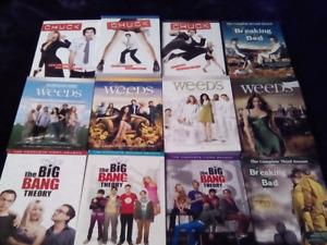 34 saisons de série anglais DVD