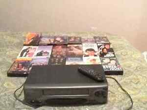 Citizen VHS with 18 movies